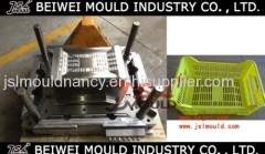 Injection plastic fruit vegetable fish crate mould