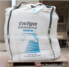 2.0 ton bulk jumbo bag for cement