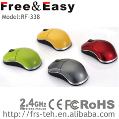 excellent quality mini infrared wireless mouse OEM ODM logo print