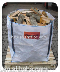 ventilated jumbo bag for firewood