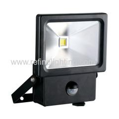 LED flood light 10W COB Epistar sensor