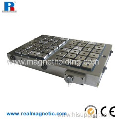 400*600 Electro permanent magnetic chuck for milling machine