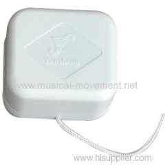 Musical Pull String Cord Toy Insert
