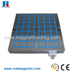 500*500 permanent magnetic chuck for milling machine