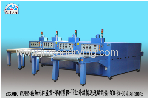 IR Hot Drying Tunnel drying oven dryer machine dryer oven conveyor dryer oven