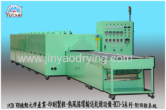 IR far infrared hot air circulation conveyor drying oven- Hot air drying equipment