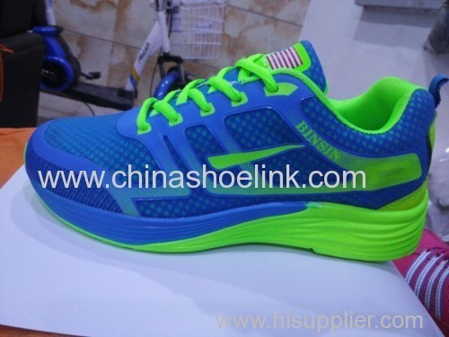 Royalblue Men running shoes outdoor shoes supplier
