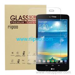 Riipoo高品質LG G PAD 8.3アンチスクラッチ強化ガラススクリーンプロテクターの安全2.5Dラジアン