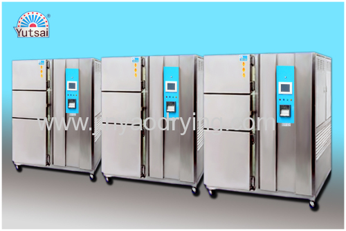 Hot and cold impact testing equipment thermal shock chamber supplier