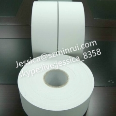 Chinese Manufacturer Support Very Strong Adhesive Ultra Destructible Vinyl Rolls Blank Sticker Paper Roll