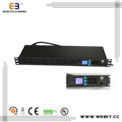 Smart remote control PDU with current meter