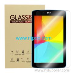 Riipoo Protecteur d'écran en verre trempé de haute qualité LG G PAD 10.1 V700 2.5D radian 9H dureté 0.3mm pensée