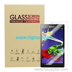 Lenovoタブ2 A7-30 / A7-10アンチフィンガープリントと防汚2.5Dラジアン強化ガラススクリーンプロテクター提供:riipoo