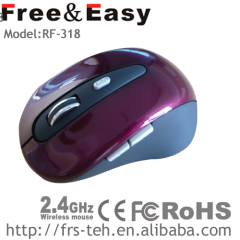 Hot 2.4G 6D Wireless Optical Mouse With High CPI