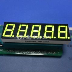 "Super Green 0.56"" 5 digit 7 segment led display common cathode for digital weighing scale indicator"