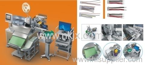 NKM-07 Automatic ne end tinning terminal housing inserting machine