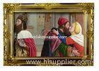 Colorful Beautiful Framed Hand Painted Religious Oil Paintings on Canvas