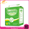 Cheap Nonwoven Breathable film adult diaper