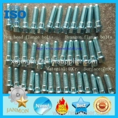 Bolt with hole Bolt with Hole in Head Hex head bolts with holes Hex bolts with holes on head High tensile bolts 8.8 10.9