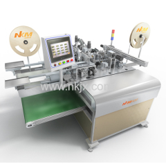Auomatic Two Ends Terminal Crimping Housing Inserting Machine
