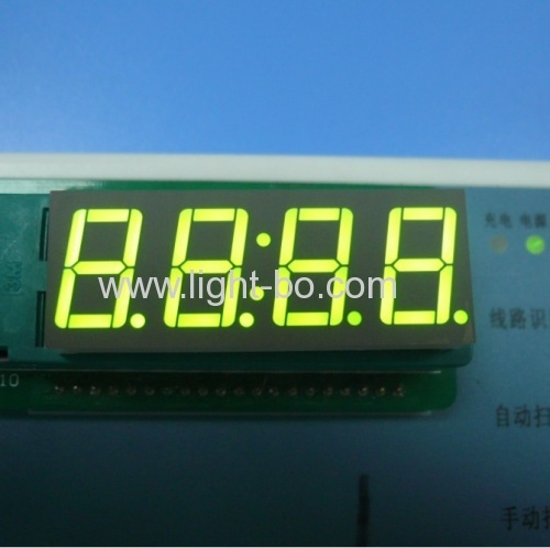 Super Green 0.56  4 digit 7 segment led clock display for home appliances