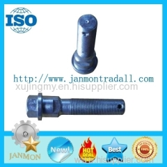 High tensile bolts with holes Steel bolt with hole Stainless steel hex head bolt with hole Grade 8.8 hex bolts 10.9 12.9
