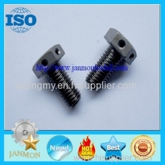 Hexagon bolts with holes Bolt with hole Bolt with Hole in Head Hex head bolts with holes Hex bolts with holes on head