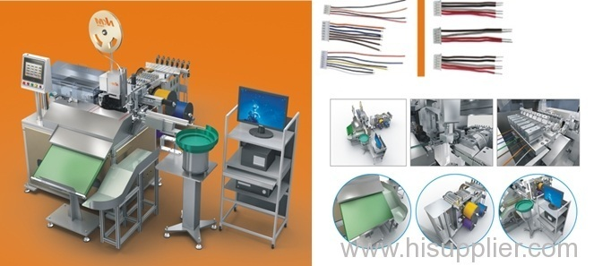 New Production, new invention, full automatic terminal inserting shell machine