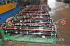 Automatic Buiding Roof / Wall Panel Roll Forming Machine with PLC Control