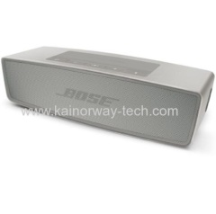 New Bose SoundLink Mini Pearl Silver Bluetooth Wireless Speaker II With Built-In Speakerphone