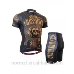 2015 100% polyester different types of fabric custom crazy cycling jersey