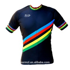 2015 Best Quality Custom Funny Crazy French Cycling Jersey Custom Design