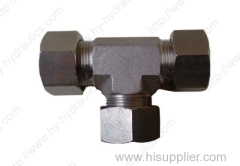 AC AD AC-RN AD-RN Hydraulic bite type tube fitting equal tees