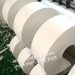 Minrui Supply Matte White Ultra Destructible Vinyl Eggshell Paper Security Sticker Materials Self Adhesive Label Rolls