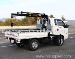 Donghae hydraulic cargo crane stick crane winch
