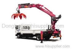Donhae Grap grapple crane hydraulic knuckle crane