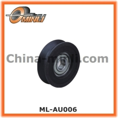 U groove bearing wheel for furniture and window