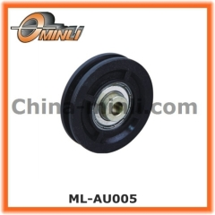 plastic coated nylon roller for door and window