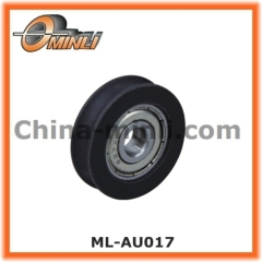 Plastic Pulley Nylon Bearing wheel with round-seat groove