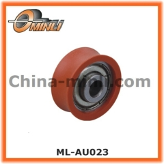 window roller with customized hollow shaft
