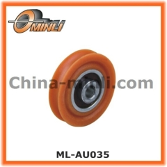 Window and Door Fittings Nylon Roller with steel inner ring