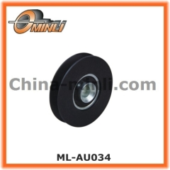 Window and Door Fittings Bearing wheel with solid axle