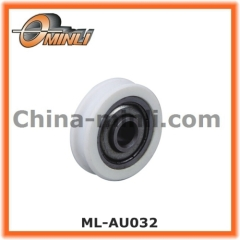 Plastic Roller Pulley for Furniture sliding Accessory