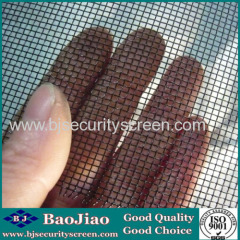 18x14 Mesh Epoxy Coated Woven Low Carbon Steel Wire Filter Screen