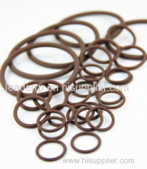 Viton/ FKM O ring good chemical resistance in brown color