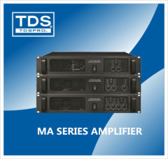 Professional Power Amplifier with PA Audio For Concert Equipment