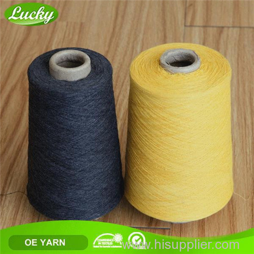 recycled blanket dyed yarn