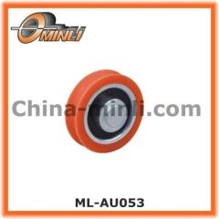 Bearing Wheel with Plastic Coating