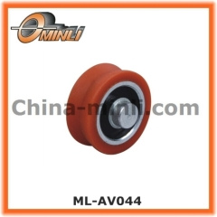 Nylon Roller with Solid Axle