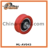 Nylon Pulley with Solid Axle